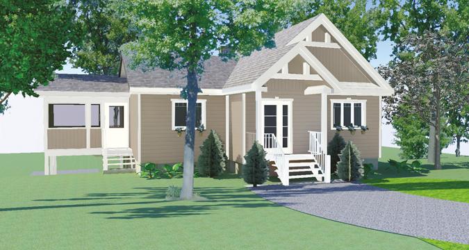 Vela champ tre projet domiciliaire entrelacs mod le de maison - Modele maison champetre ...
